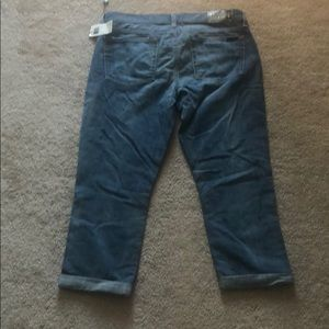 7 For All Mankind Jeans - 7 Skinny Crop and Roll